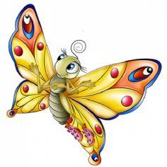 News Butterfly: Butterfly Cartoon Clipart Butterfly Cartoon Images, Butterfly Clip Art, Butterfly Design, Cartoon Clip, Cute Cartoon, Inkscape Tutorials, Illustration Noel, Beautiful Butterflies, Clipart