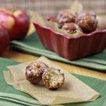 delish glazed apple fritters!