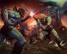 Masters of the Universe 30th Anniversary on Behance