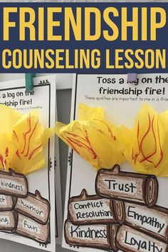 This elementary school counseling classroom guidance lesson introduces qualities of a supportive friendship! Students discuss their own ideas and then create a campfire craft to represent the qualities they value most in a friendship. Students go on a gal