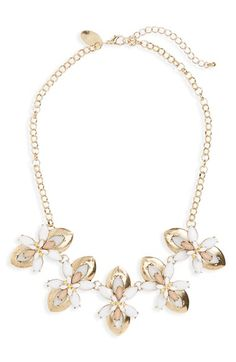 Natasha Couture Statement Necklace available at #Nordstrom
