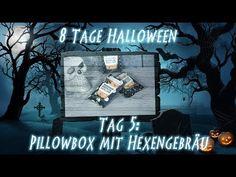 8 Tage Halloween - Tag 5 - Pillowbox mit Hexengebräu mit Produkten von Stampin' Up! - YouTube