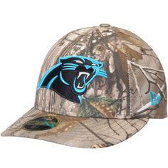 2f1622b67 Men s Carolina Panthers New Era Realtree Camo Low Profile 59FIFTY Hat