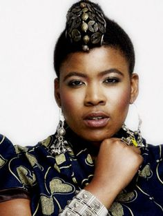 Thandiswa Mazwai, South African musician, & former lead vocalist/songwriter of Bongo Maffin, one of the pioneering bands of Kwaito (a variant of house music, using African sounds & samples). Her music is often deeply political and her compositions include traditional Xhosa rhythms, Mbaqanga, reggae, kwaito and funk & jazz sounds. She is a recipient of a Kora award for Best African Female, 4 South African Music Awards, & others. If you are not familiar with her, take a listen to her song…