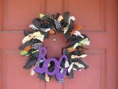 Halloween Wreath by phyllis