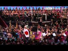 Last Night at the Proms - Rule Britannia. at The Royal Albert Hall, London has been performed since 1895 and consists of over 70 concerts.