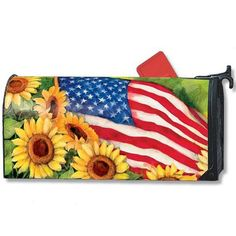 American Sunflowers Mailwrap