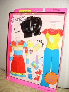 Barbie Fashion Avenue Mix 'N Match Styles Turquoise Trends Fashion 027084449358 | eBay