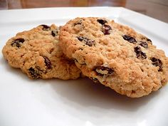 Chewy Oatmeal-Raisin Cookies Recipe Desserts, Afternoon Tea with all purpose unbleached flour, baking powder, grated nutmeg, salt, unsalted butter, light brown sugar, granulated sugar, large eggs, rolled oats, raisins