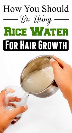 Powerful Rice Water Recipes For Healthy Natural Hair Growth In Just 1 Week - Here is one of the many rice water recipes that you can incorporate in your natural hair routine for faster hair growth. For best results, use the rice water on a weekly basis. Best Natural Hair Products, 4c Natural Hair, Natural Hair Growth, Natural Hair Styles, Natural Shampoo, Natural Beauty, Black Hair Growth, Vitamins For Hair Growth, Healthy Hair Growth