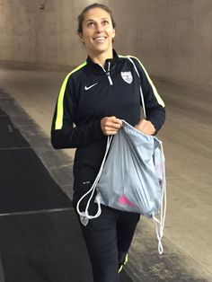 Carli LLoyd, Ford Field, Detroit, Sept. 17, 2015.