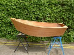 Wooden Rowing Boat P