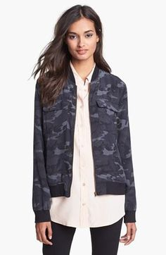 Want this camo bomber jacket!