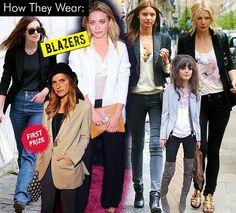 Celeb Style- How They Wear Blazers on SALE now at SirenShop  www.stores.ebay.com/sirenshop