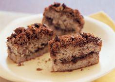 Banana Coffee Cake with Chocolate Chip Streusel - Bon Appétit