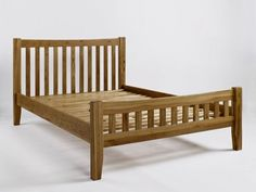 The Westbury Reclaimed Oak Double Bed is a chunky and robust piece which would create a natural, rustic feel in a bedroom. This product is crafted from the highest quality solid oak and has durable wooden slats. Crafted using traditional methods and given a rustic style finish, this piece displays extensive knot and grain patterns. The Westbury Reclaimed Oak Double Bed is finished in a natural satin lacquer and features slightly tapered leg ends and a slatted head and foot end.