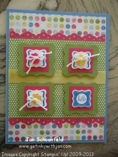 Pretty Petites Stampin' Up!