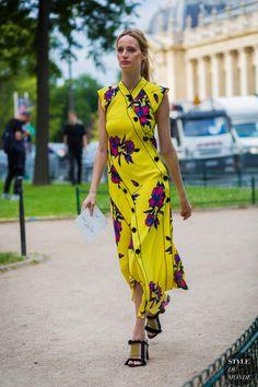 Haute Couture Fall 2016 Street Style: Lauren Santo Domingo