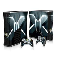 X-Men sticker skin for Xbox 360 slim - Decal Design