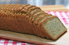 Paleo Bread by Food Matters Paleo Bread, Candida Diet, Multigrain, What You Eat, Paleo Dinner, Gluten Free Recipes, Real Food Recipes, Banana Bread, Free Food