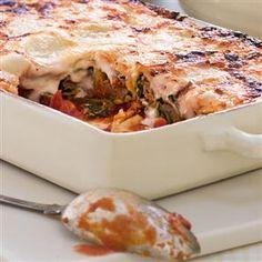 Spinach, Parmesan and sausage cannelloni Recipe | delicious. Magazine free recipes