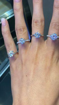 Bulova Women's Diamond Accented Silver-Tone Bracelet Watch – The Fashion Mart Diamond Wedding Rings, Diamond Engagement Rings, Popular Engagement Rings, Unicornios Wallpaper, Gold Chains For Men, Bling Wedding, Ring Verlobung, Unique Rings, Dimonds