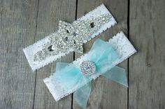 Wedding Garter , Bridal Garter Set , Blue Garter set , Lace Garter , Something Blue by ThePinkBunnyWeddings on Etsy https://www.etsy.com/listing/196554501/wedding-garter-bridal-garter-set-blue