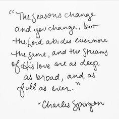Charles Spurgeon #love #abides #broad
