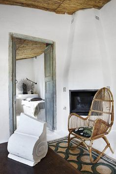 sfgirlbybay / bohemian modern style from a san francisco girl Mesa Exterior, Interior And Exterior, Interior Design, Easy Home Decor, Cheap Home Decor, Shabby Chic Decor, Rustic Decor, Stil Rustic, Spanish Bedroom