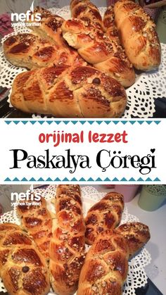 Pastry Recipes, Bread Recipes, Cake Recipes, Good Food, Yummy Food, Turkish Recipes, How To Make Bread, Sweet Tooth, Brunch