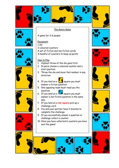 Board game for KS2 SATs revision