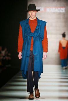 Goga Nikadavze Fall/Winter 2015/16 - Mercedes-Benz Fashion Week Russia   Male Fashion Trends