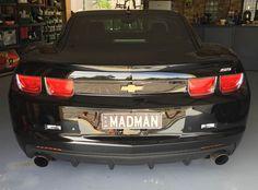 MADMAN plate from Sydney Australia