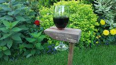 Final effect after very usefull wine holder. Drewniany stojak na wino