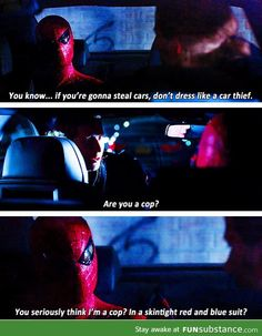 This is why I want to see Spiderman in the next Avengers Movie! I want to see him and Tony Stark sass each other! cough somebody please give marvel the rights to spiderman cough give marvel the rights BACK for Spider-Man. Next Avengers, Avengers Movies, Marvel Avengers, Ms Marvel, Captain Marvel, Marvel Funny, Marvel Memes, Marvel Dc Comics, Tom Holland