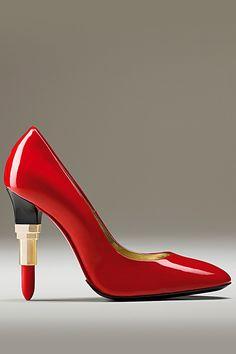 Shoes lipstick Alberto Guardiani