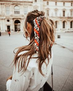 Cute pony with scarf...chic