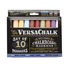 Classic Color Liquid Chalk Markers (10 Pack)