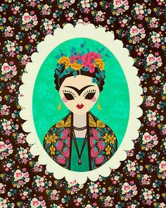 #Frida #illustrations