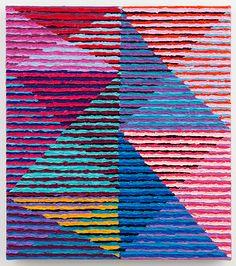 TODD CHILTON: Slotted Triangles, 2012