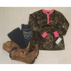 Trail Quest Neon Pink Camo Fleece Henley Long sleeve fleece Henley, with hot pink trim. Cozy and warm. NWT Trail Quest Tops Tees - Long Sleeve