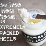 Tea Tree Heel Cream for Extremely Cracked Heels
