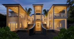 Bequia, Porches, Architecture Design, House By The Sea, Layout, Mansions Homes, Dream House Exterior, Dream Home Design, Luxury Villa