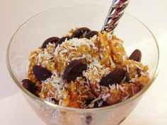 Eating globs of cookie dough by the spoonful (completely guilt free) is something dreams are made of! This doughy recipe of delight is something I made up during a sugar craving meltdown. Instead o...