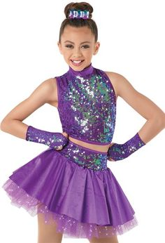 Weissman™ | Ultra Sparkle Top with Tulle Skirt