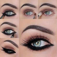 Rich And Elegant Makeup Tips For Blue Eyes Latest Women Fashion