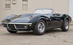 1969 L88 Corvette. Sold for $575,000 at Mecum's 2012 Monterey auction.