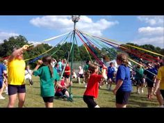 Maypole Dancing at the 2010 Greenfields Summer Fair