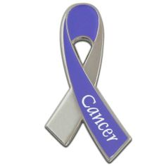 Cancer Awareness Ribbon Pin . $3.99