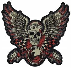 Lethal Threat Vintage Biker Red Embroidered Patch LT30135  http://bikeraa.com/lethal-threat-vintage-biker-red-embroidered-patch-lt30135/
